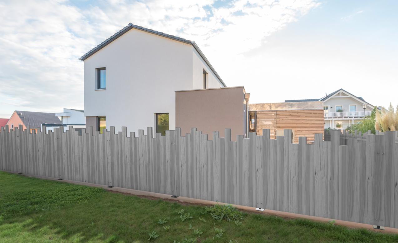 Cloture Bois Hauteur 2M50 clôtures pvc pour résidences et maisons individuelles drôme