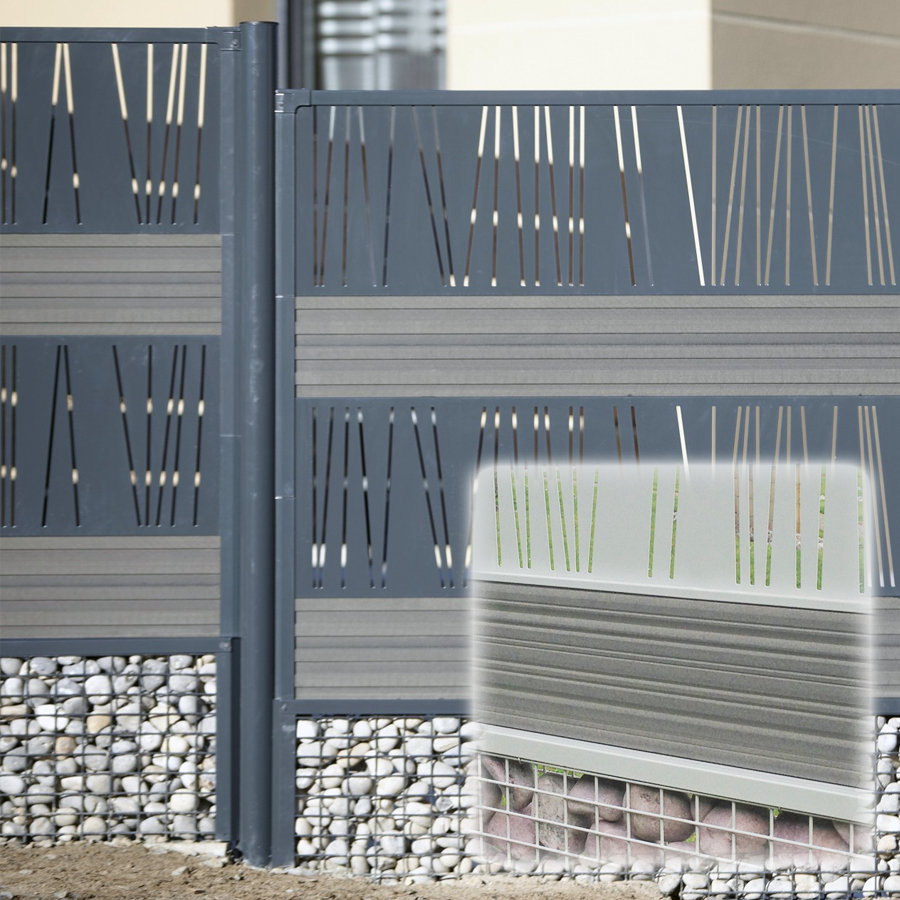cl ture d corative et gabion pour maisons et r sidences. Black Bedroom Furniture Sets. Home Design Ideas